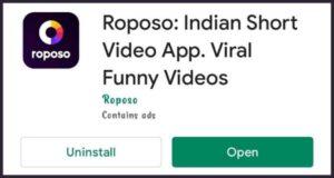 Roposo App क्या है Roposo App से पैसे कैसे कमाए Roposo क्या है Roposo से पैसे कैसे कमाए Roposo किस देश का ऍप  है